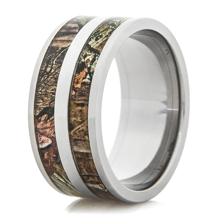 Double Barrel Camo Ring