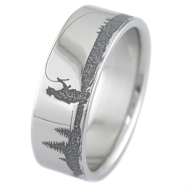 Seven Things To Avoid In Mens Fishing Wedding Rings mens