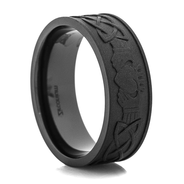 Wod Inlay Weding Rings 015 - Wod Inlay Weding Rings