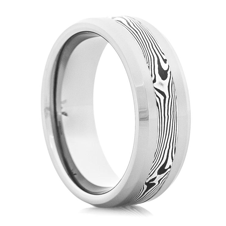 Tungsten Carbide Shakudo Wedding Ring  Titaniumbuzz. $3000 Engagement Rings. Audrey Wedding Rings. Flush Set Wedding Rings. Victorian Diamond Engagement Rings