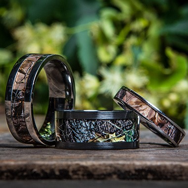 camo outdoor rings