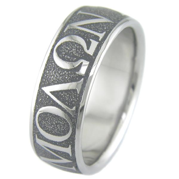 Molon Labe Wedding Ring Unique Titanium Rings Amp More