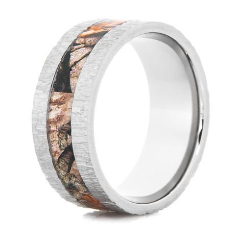 Mens Mossy Oak Treestand Camo Ring