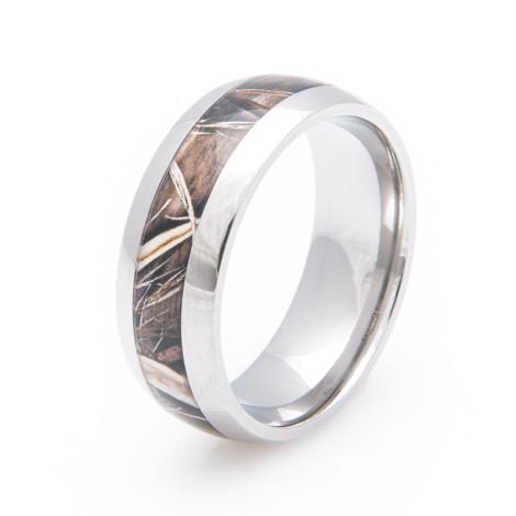 Menu0027s Titanium Realtree® MAX 4 Wedding ...