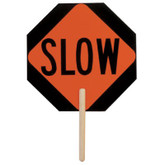 "Stop / Slow Sign 18""x18"" Octagon Paddle # 5950"
