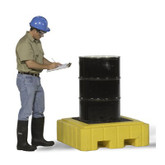 Ultra-Spill Pallet P1 Plus, with drain, 9607
