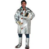"Chicago Protective Apparel Aluminized Kevlar Coat 40"" Length 