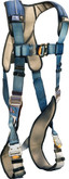 DBI Sala ExoFit™ XP Vest Style Harness, Back D-ring, quick connect buckle leg straps, removable comfort padding