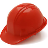 HP14120 Red Hardhat-Ratchet by Pyramex