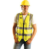 OccuNomix Premium Full Surveyor Class 2 Safety Vest | Mfg.# LUX-SSFULLZ