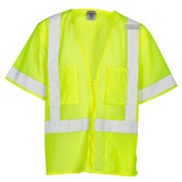 ML Kishigo 1264 Ultra-Cool™ Class 3 Mesh Economy Lime Vest