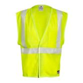 ML Kishigo FM389 Flame Resistant Hi-Viz Mesh Safety Vest, ANSI 107 Class 2 Compliant, NFPA 70E-2012, ATPV 5.1 cal/cm2