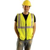 OccuNomix Solid Class 2 Premium Vest, Mfr. # LUX-SSGZ