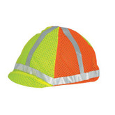 ML Kishigo 2-Tone Hard Hat Cover, Hi-Viz Headwear | Mfg# 2871