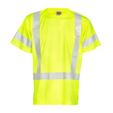 ML Kishigo 9118 Class 3 Short Sleeve t-Shirt, Hi-Vis Yellow