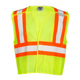 M.L. Kishigo 1174 Ultra-Cool Contrasting Mesh Breakaway Safety Vest, Class 2