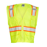 M.L. Kishigo Ultra-Cool™ ANSI Class 2 Mesh Vests, Multi-Pocket | Mfg# 1195