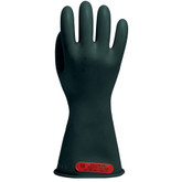 Salisbury® Class 0 Black Electricians Gloves | Mfg# E014B