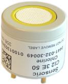 Oldham AirAware Replacement Chlorine CL2 Sensor, 0-99.9 ppm Range, Mfg# 17077330