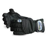 Superior Glove Snowforce Extreme Cold Winter Gloves, Black Clatino PVC Palm & Velcro Strap, Mfg# SNOW388V