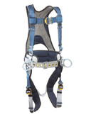 DBI Sala ExoFit™ Construction Style Positioning Harness, Back D-ring, belt with pad and side D-rings
