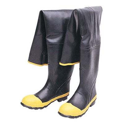 Durawear Black Rubber Hip Wader Boots Mfg 1531