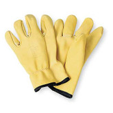 "Salisbury® ILP10 10"" Cowhide Electricians Leather Protector Gloves"