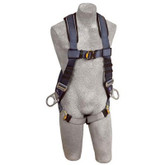 DBI Sala Exofit Vest Style Harness, Back and side D-rings, quick connect buckle leg straps, built-in comfort padding