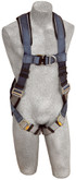 DBI Sala ExoFit Vest Style Climbing Harness, Back and Front D-Rings, Quick Connect Buckles, Comfort Padding