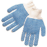 Durawear Two Sided PVC Block String Knit Glove - 15-1200BB