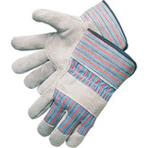 "Durawear Leather Palm Work Glove with 2.5"" Safety Cuff 