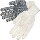 Durawear PVC Dot String Knit Gloves, 12 pair/pkg | Mfg# 15-1210PD