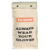 Salisbury® Glove Storage Bag by Honeywell for Electrical Protector Gloves, Heavy Canvas Duck Material