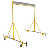 FlexiGuard™ A-Frame Rail Fall Arrest System, Anchor Height 20 ft., Rail Width 30 ft | Capital Safety Part# 8517795