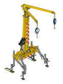 FlexiGuard™ Hitch Mount System, DOT Rated, Adjustable Height 13 ft. - 22 ft. |  Capital Safety Part# 8530691