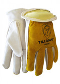 Tillman 1454 Grain/Split Cowhide Kevlar Sock Lined Drivers Gloves, ANSI Cut Resistant Level 2