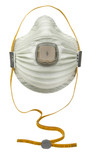 Moldex 4700N100 AirWave Particulate Respirator with SmartStrap and Ventex Valve, 5 ea/box