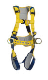DBI Sala Delta Comfort Construction Style Positioning / Climbing Harness, Back, Front and Side D-rings, Quick Connect Buckles, Belt with Pad
