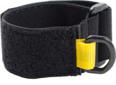 Adjustable wristband, elastic strap with hook and loop.