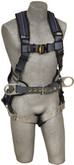 DBI Sala ExoFit XP Construction Style Positioning Harness, Back D-ring, Belt with Pad and Side D-rings, Tongue Buckle Leg Straps, Removable Comfort Padding