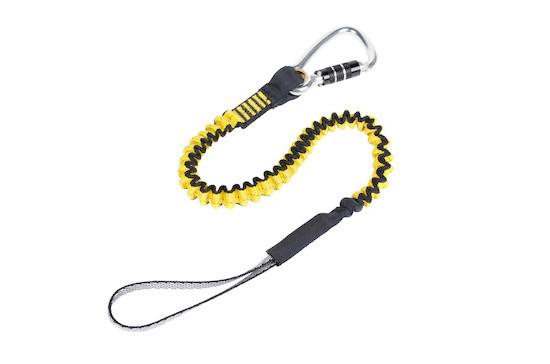 python safety hook2loop bungee tether tool lanyard, locking ...