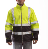 Tingley Phase 3 Hi-Visibility Yellow Jacket, Windproof, ANSI/ISEA 107 Class 3 Compliant, Mfg# J25022