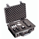 Pelican 1500 Black Watertight, crushproof, and dust proof case | Mfg# 1500 BLK