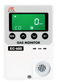 RKI EC-600 (CO) Carbon Monoxide Gas Monitor, 0-150 PPM Range, 115 VAC | Mfg# 73-1204