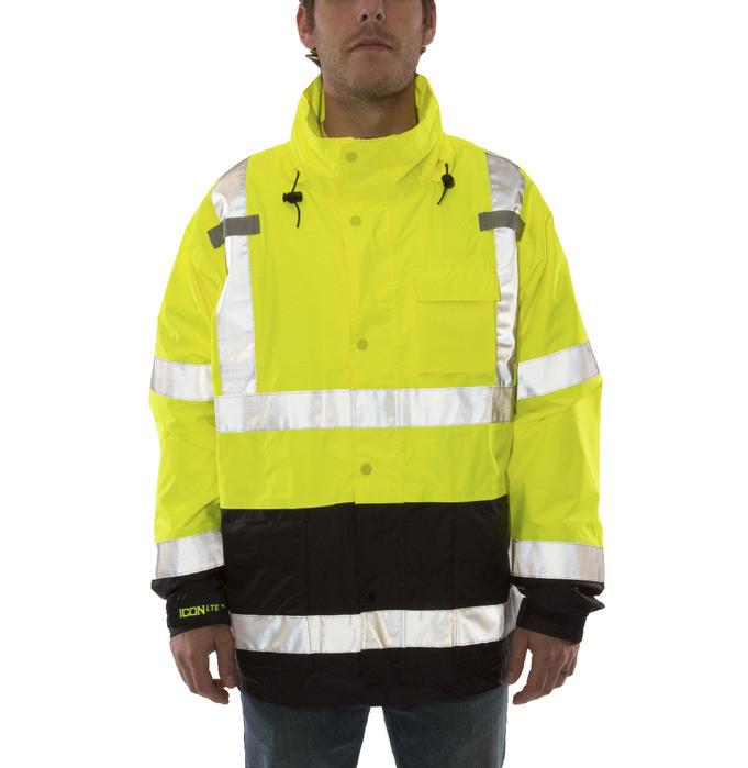 Tingley Icon Lte Jacket High Visibility Class 3 Rain