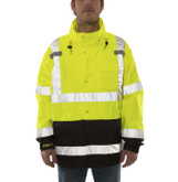 Tingley Icon LTE Jacket High Visibility Class 3 Rain Jacket, Waterproof, Windproof, Mfg# J27122