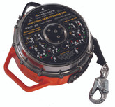 MSA Latchways 130 ft (40 m) Stainless Steel Cable Sealed Self-Retracting Lifeline, Mfg #62841-00US