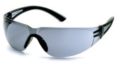Pyramex Cortez Safety Glasses, Grey Lens with Black Temples, Part No. SB3620S