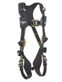 DBI Sala ExoFit NEX™ Arc Flash Harness, PVC Coated Aluminum D-Ring, Quick Connect Buckles, Nomex/Kevlar Webbing & Padding