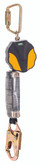 MSA Safety Part#  10157841, Workman Mini PFL, 6 feet single-leg, with 36C snaphook, Yellow/Black